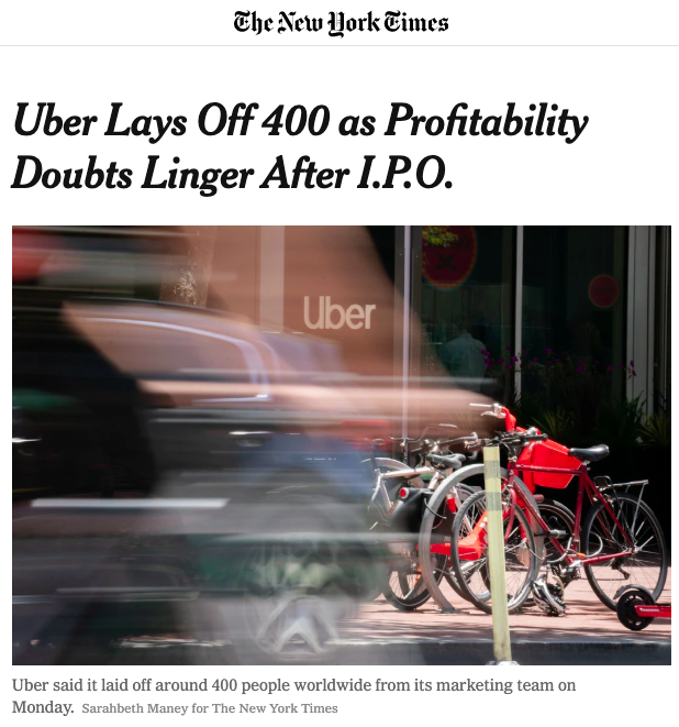 from https://www.nytimes.com/2019/07/29/technology/uber-job-cuts.html
